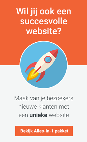 Alles-in-1 website pakket